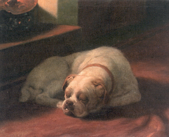 Arthur_Heyer_-_Bulldog_Sound_Asleep