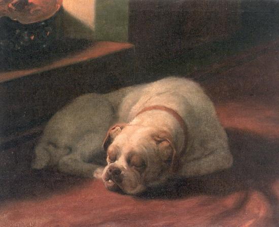 Arthur_Heyer_-_Bulldog_Sound_Asleep