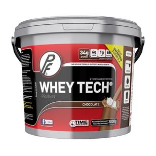 Whey Tech fra Proteinfabrikken var det mest brukte tilskuddet i følge rapporten. I motsetning til hva som står i rapporten er det selfølgelig ikke laget av hvete.