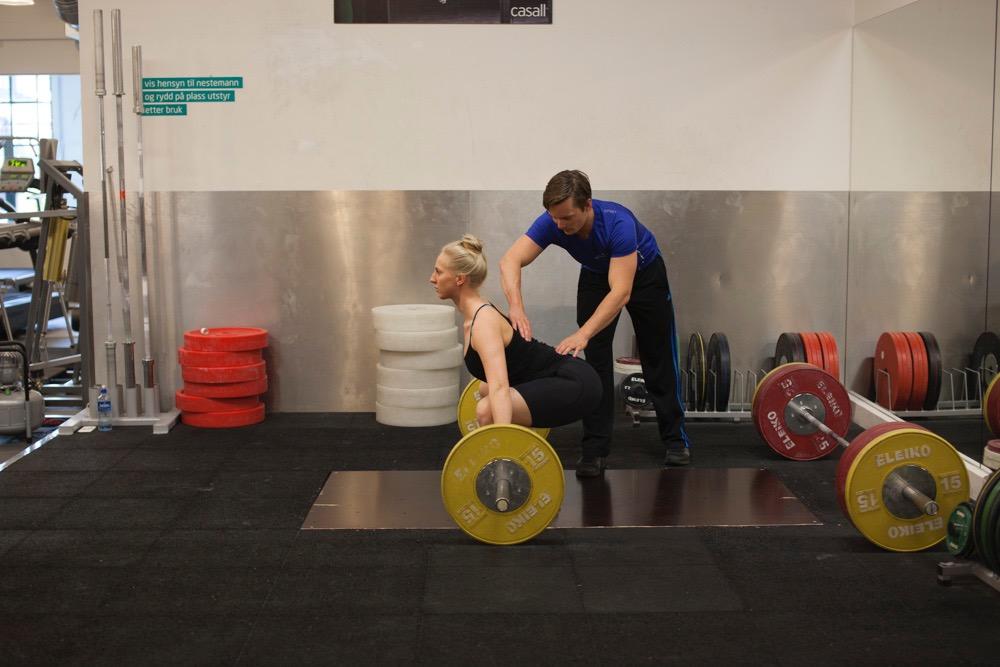 Å fysisk ta på kunden kan være et nyttig verktøy for teknisk innlæring.