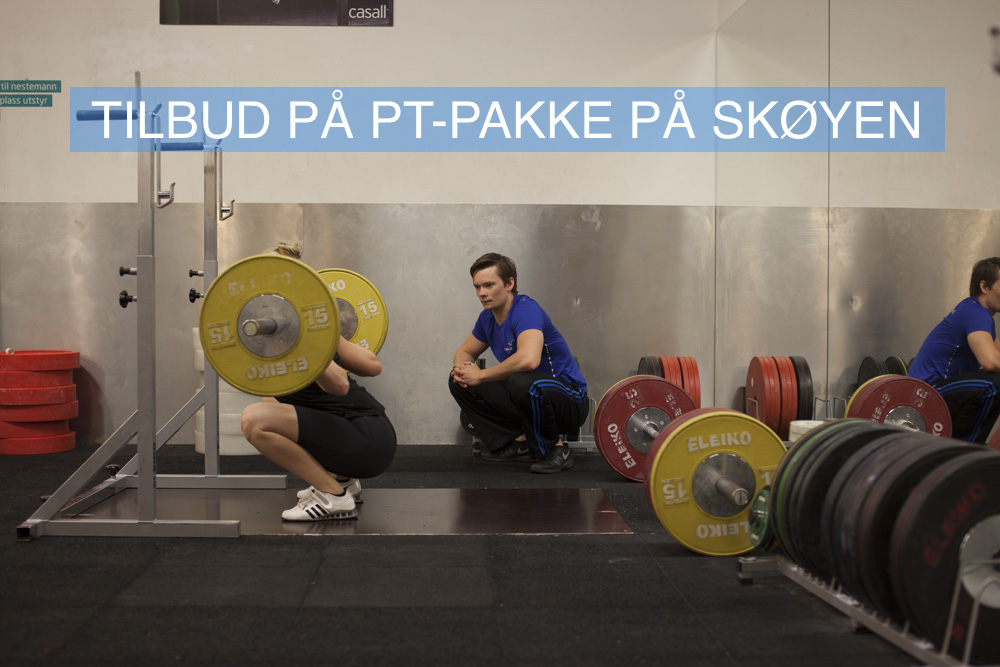 TILBUD PÅ PT-PAKKE PÅ SKØYEN: