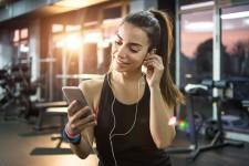 Lytter du til musikk når du trener?