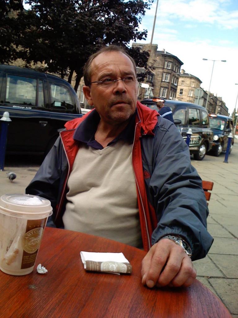 Min far, Harry André Gyllensten.