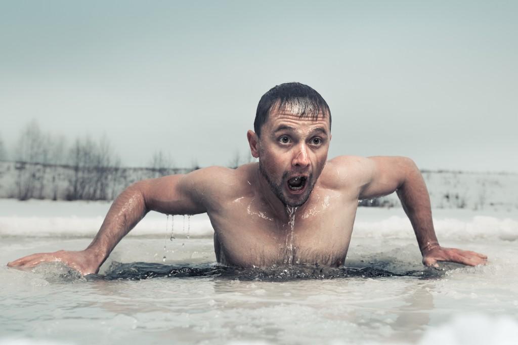 Isbad: Smertefullt og hemmende for muskelvekst!