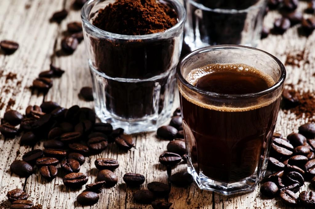 Kaffe kan anbefales før økter - både på gymmet og i senga! ;)