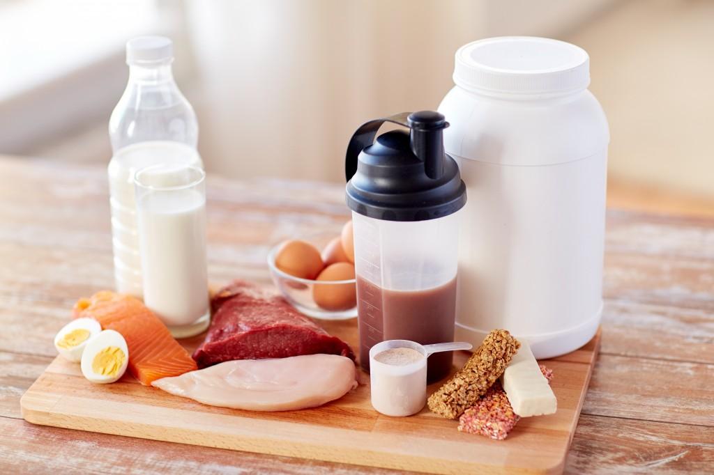 proteinpulver i mat