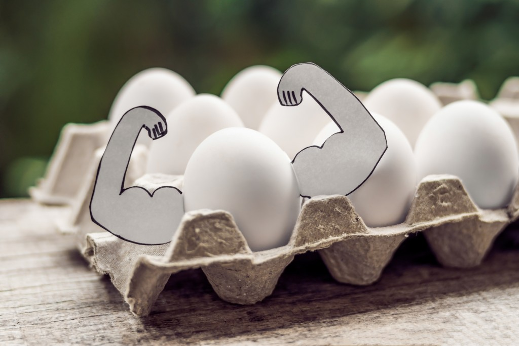 Er egg en magisk kilde til muskelvekst?